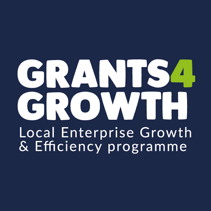 Grants 4 Growth Local Enterprise Growth & Efficiency Programme Logo